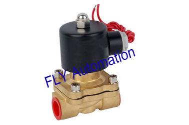 중국 16mm 구멍 Unid 2 방법 황동 물 솔레노이드 압력 밸브 2W160-15 협력 업체