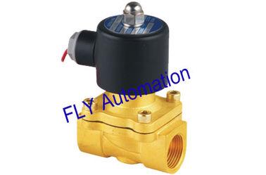 중국 20mm 구멍 Unid 2 방법 황동 물 솔레노이드 밸브 교체 2W200-20 협력 업체