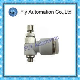 중국 GRLA-M5-QS-6 162962 1개의 방법 기류 벨브, 기관 벨브 압축 공기를 넣은 이음쇠 대리점